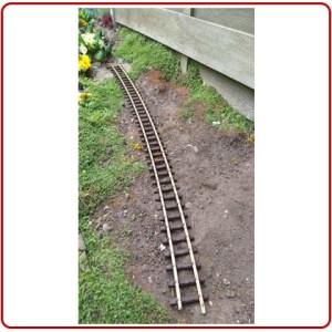 Thiel messing rails