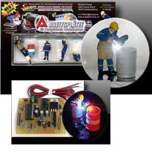 Product afbeelding H0 Lasser met elektronica P10433S