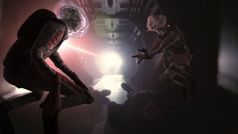 Alienígenas em Silent Enemy
