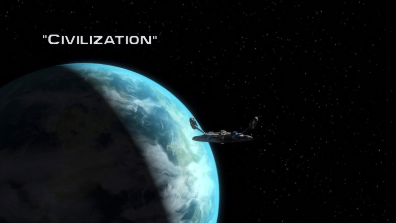 Title Card Enterprise 1x08 Civilization