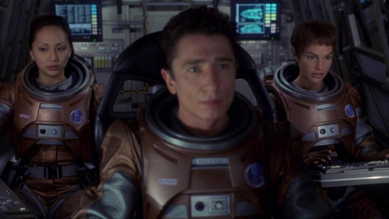 T'Pol, Reed e Hoshi no shuttlepod
