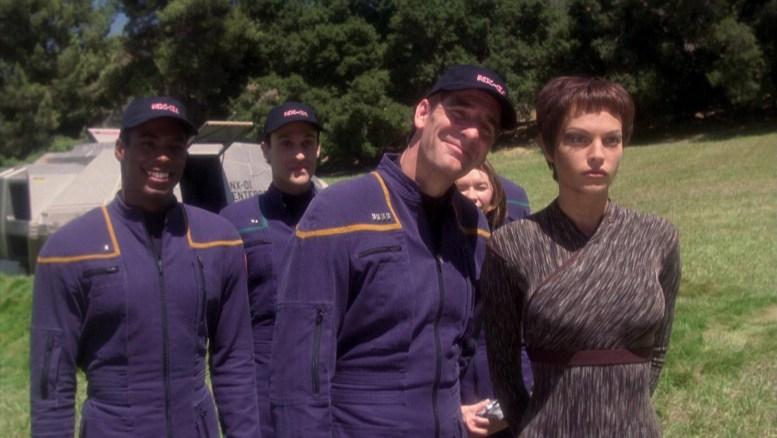 Foto tripulação Enterprise