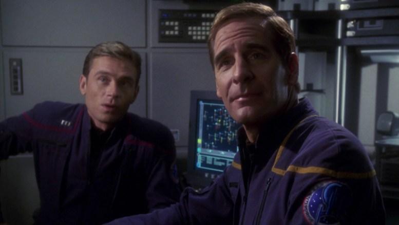 Archer e Tucker em The Andorian Incident