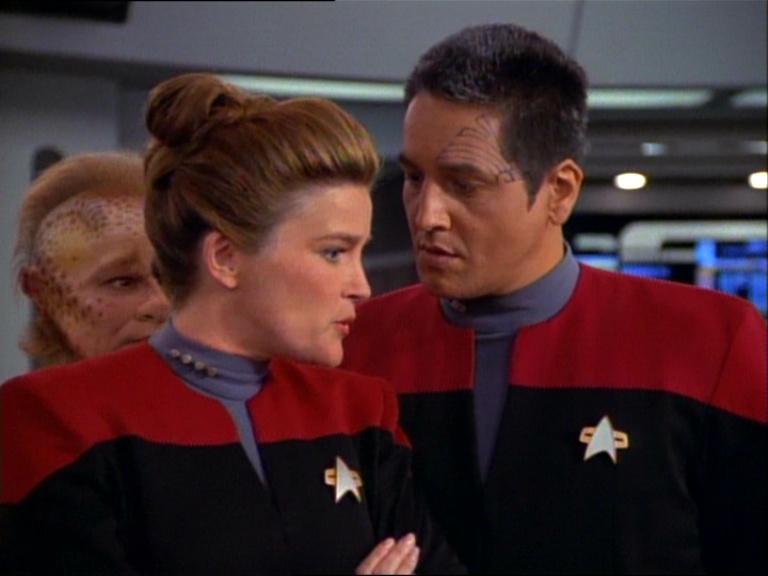 Janeway e Chakotay
