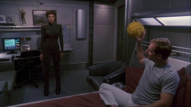 Archer e T'Pol em The Seventh