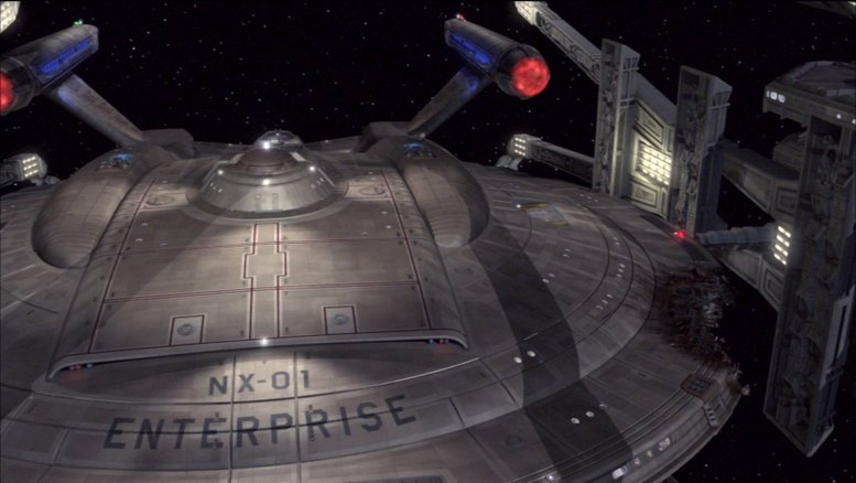 Enterprise danificada