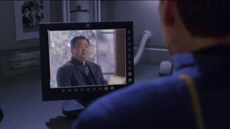 Archer conversando com pai de Hoshi