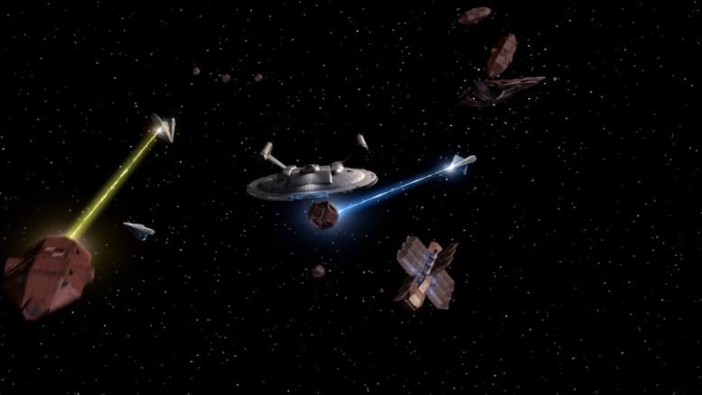 Batalha entre Enterprise, Tholianos e Sulibans