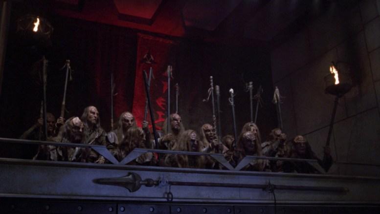 Klingons em julgamento de Archer
