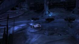 Shuttlepod dentro de nave alienígena