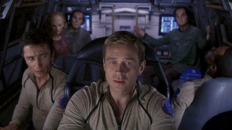 Trip, Reed e Mayweather retornando com os cientistas denobulanos