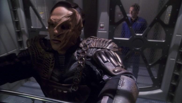 Osaariano preso na Enterprise