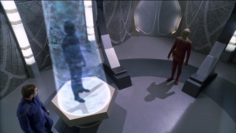 """O """"Cara do Futuro"""" falando com Archer"""