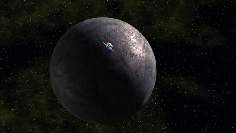 Enterprise indo investigar mais uma esfera