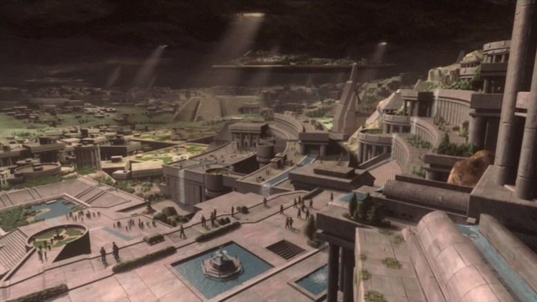 Cidade de Urquat em sonho de Archer