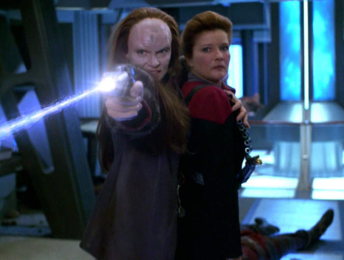 Image result for star trek voyager shattered