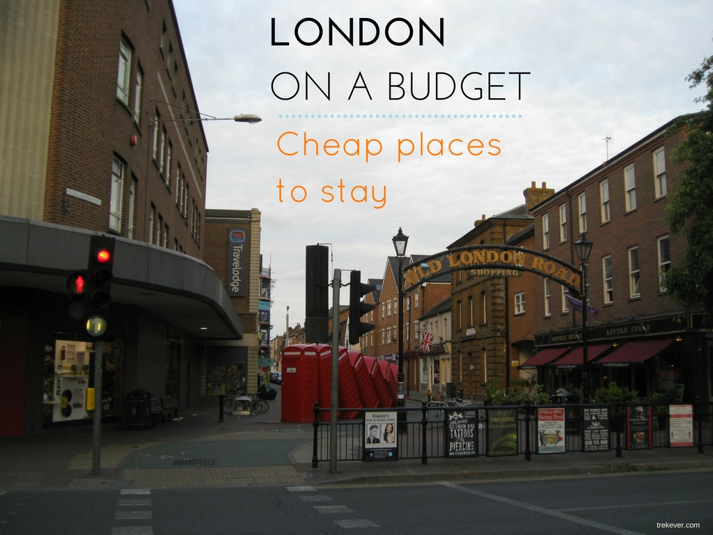 London on a budget cheap places to stay