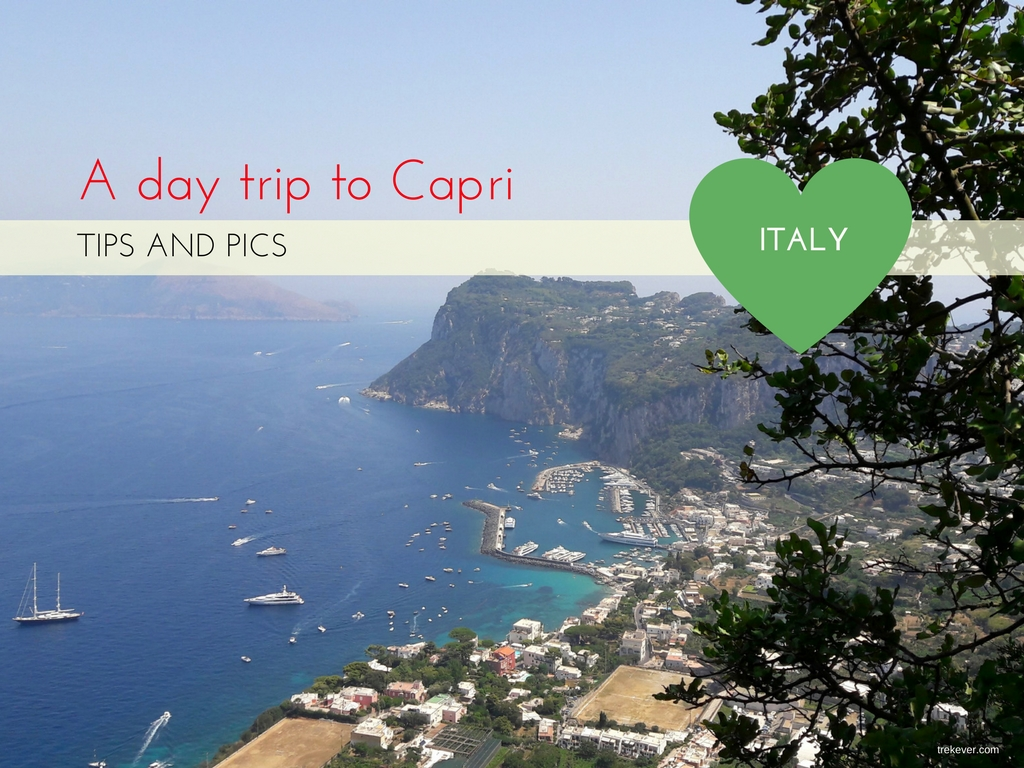 Day trip to Capri, Italy