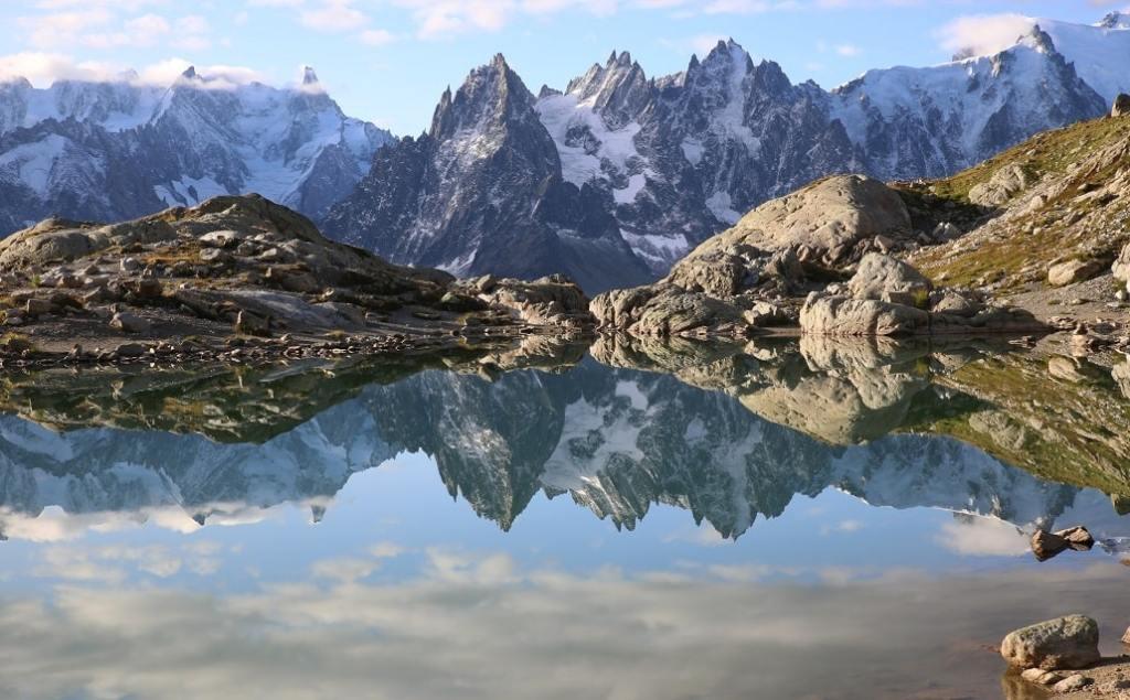 Trek Alpes du Nord 4 jours - Aiguilles Rouges