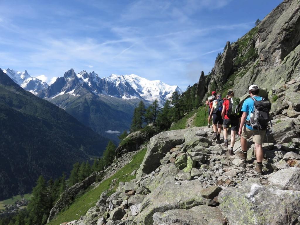 Tour du Mont Blanc avec un guide