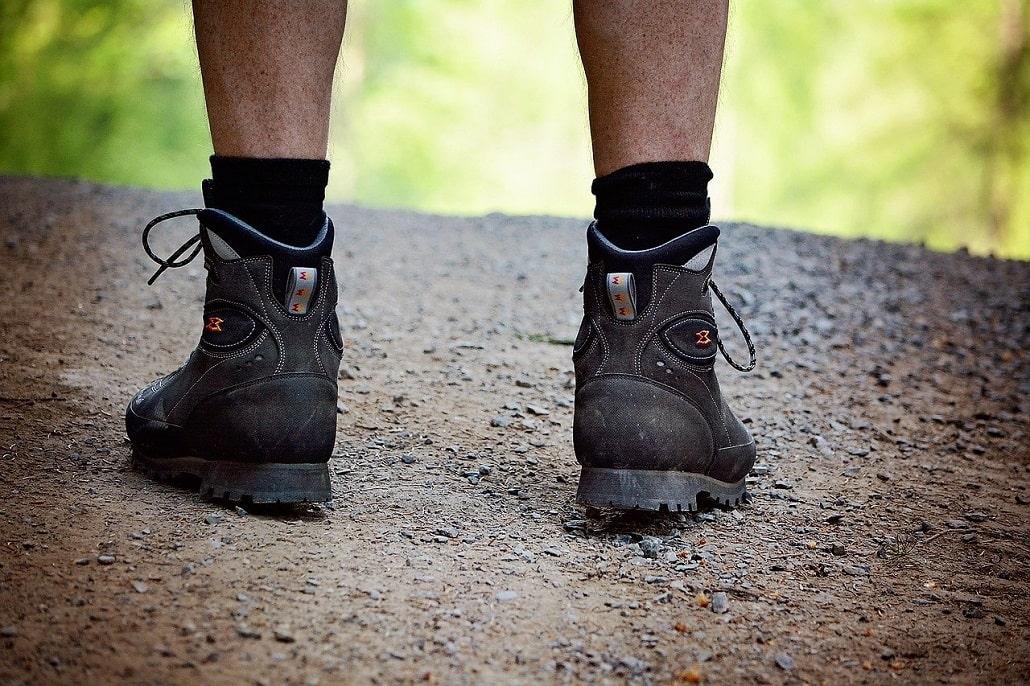 amorti chaussures de randonnée et trek