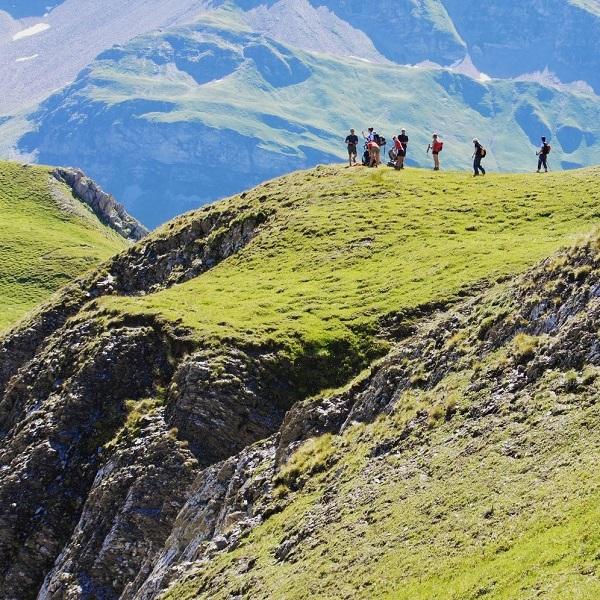 initiation trekking pays du mont blanc 4 jours