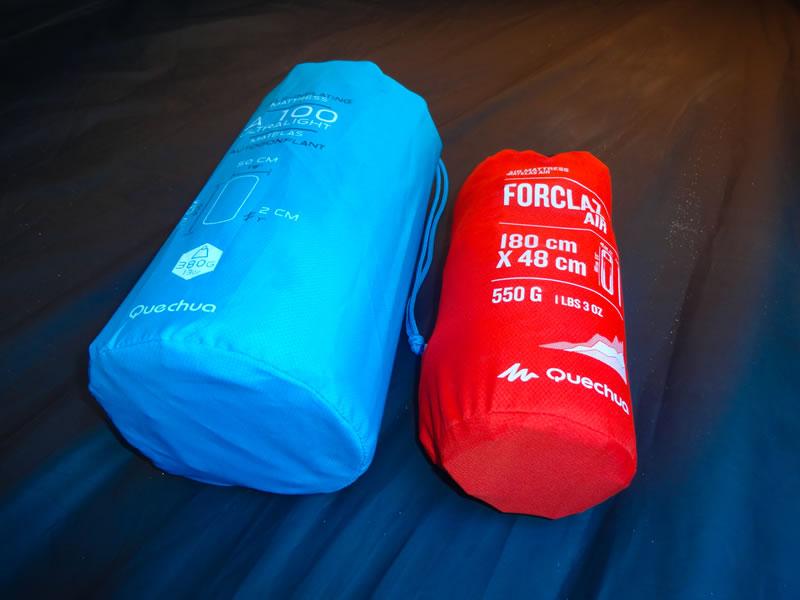29ca706e9 Isolante inflável Forclaz Air Quechua • Trekking Brasil