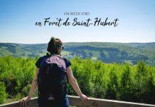 week-end randonnée Forêt de Saint-Hubert