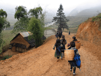Suoi Ho – Giang Cha – Saxeng villages