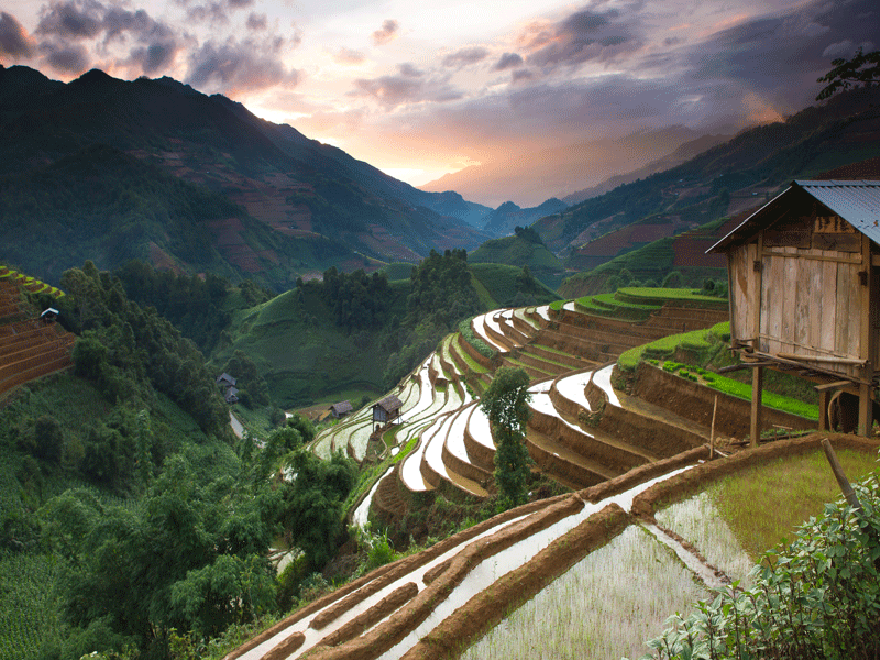 Sapa Hill Tribe Trek 5 Days 6 Nights