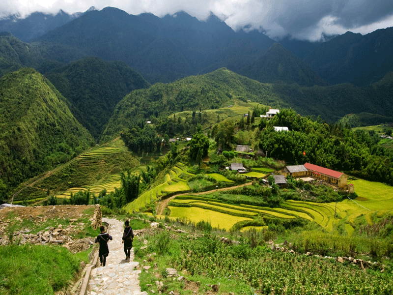 Sapa Easy Trekking 3 Nights / 2 Days, Sapa Easy Trekking Tours