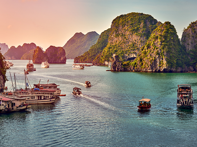 Hanoi Sapa Halong Bay 5 Days Tours, Tour Hanoi Sapa Halong 5 Days