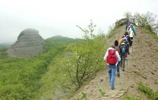 Salendo dalla Cresta Facile