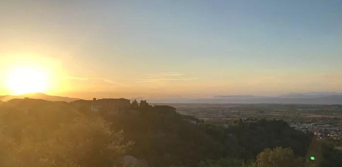 San Miniato - Tramonto sulla Via Francigena Toscana