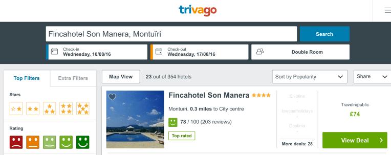 Luxury resort in Majorca cheap