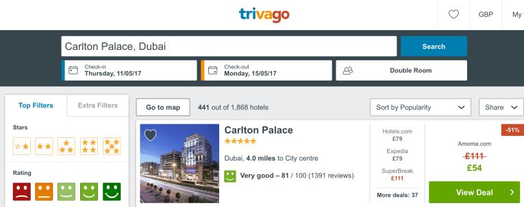 cheap five star hotel dubai