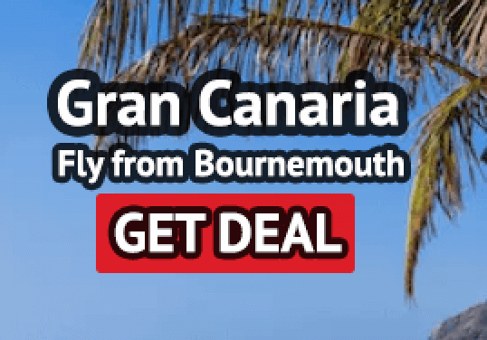Gran Canaria holiday from Bournemouth