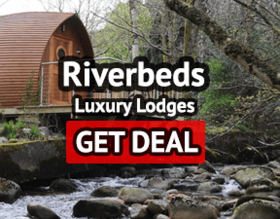 Luxury Riverbeds Lodges Scotland