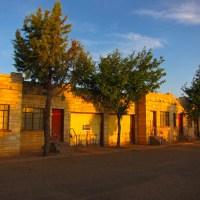 Cactus RV Park 'Walls'