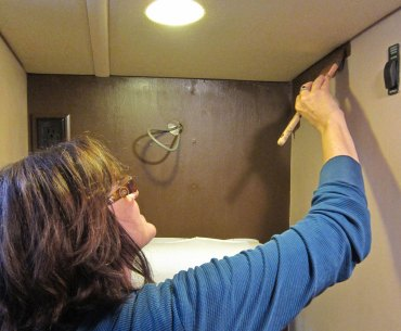 How to paint RV Walls