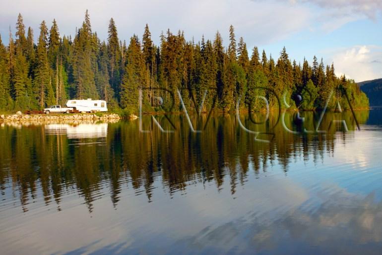 RV using lake water
