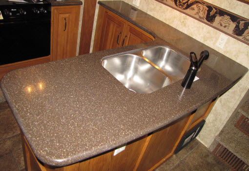 Hi Macs Countertops Lg Acorn Solid Surface Kitchen
