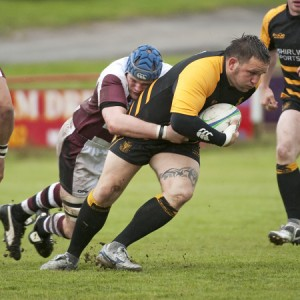 Cornwall and Redruth prop Darren Jacques. Simon Bryant/Iktisphoto.com