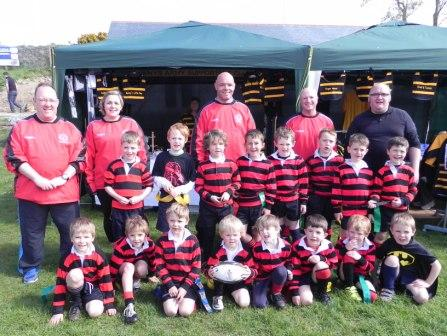 Penryn tag 2015 5. Tim Gay Penryn RFC U.7 and U.8 Coach and Teams a
