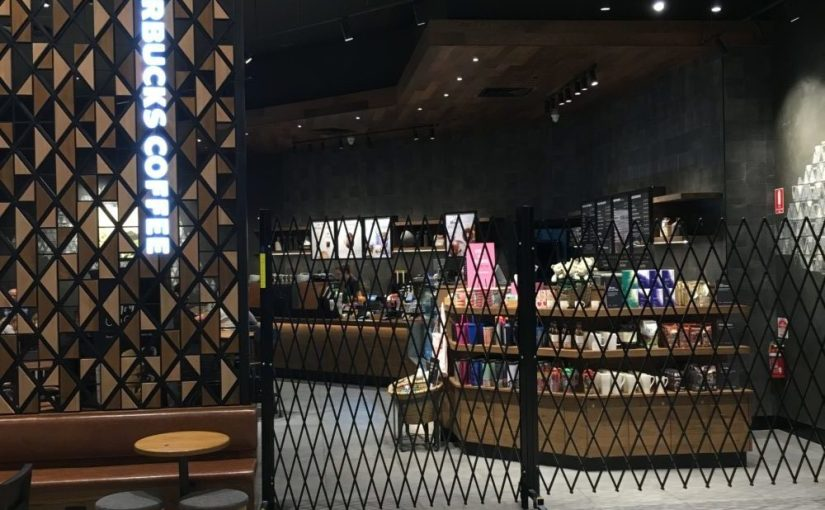 ATDC Installs its Portable Barricades for Starbucks in Melbourne