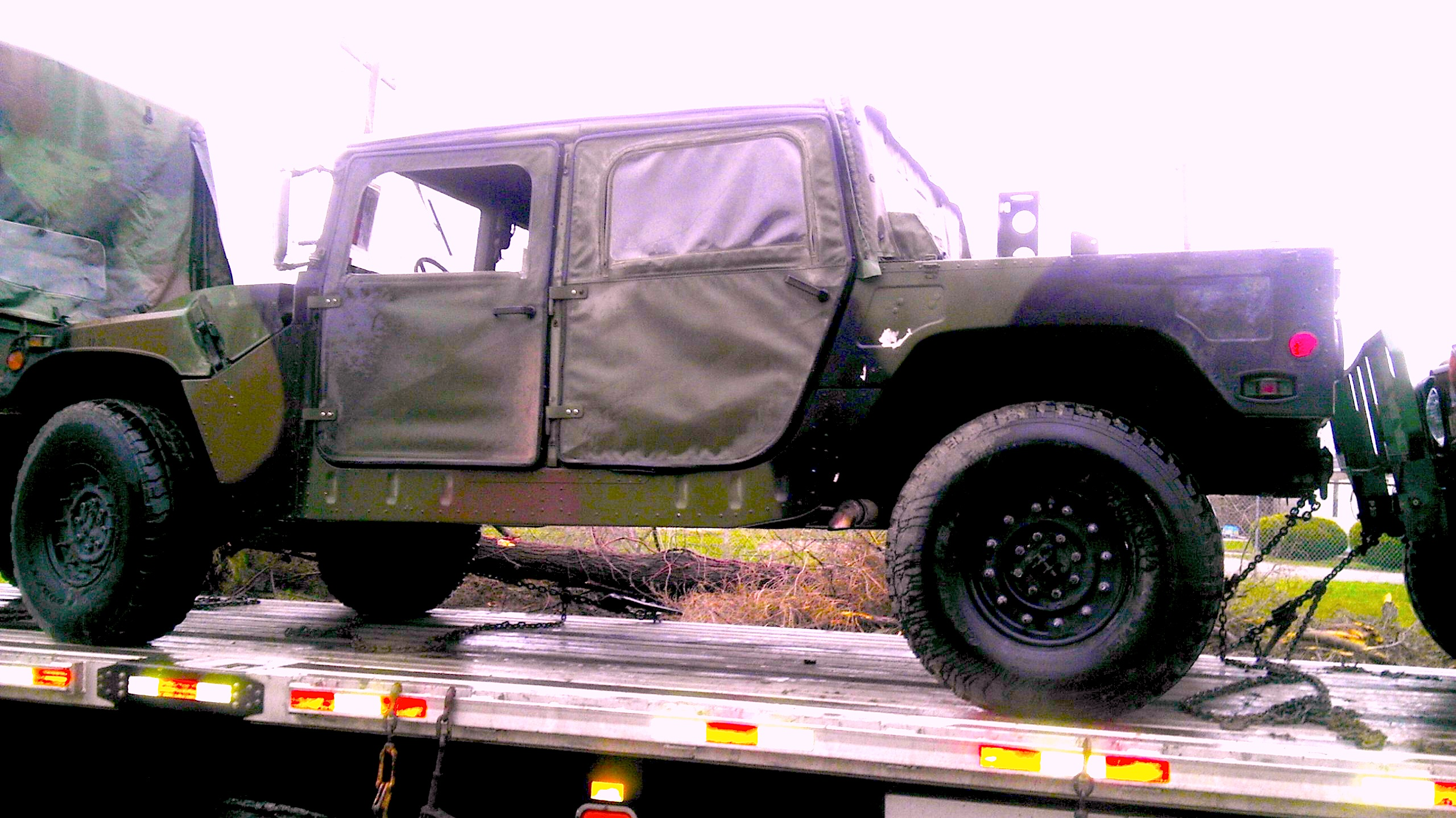 Video Military Humvee Hummer Engines Tires And Rims