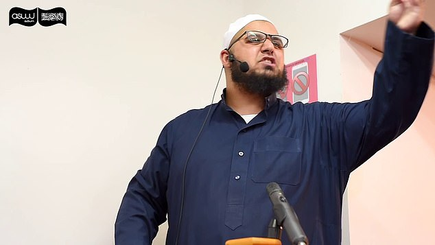 Western Sydney preacher Nassim Abdi (pictured) said celebrating Christmas was more unforgivable than committing a sin and would see someone go to hell