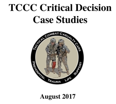 CoTCCC Critical Decision Case Studies
