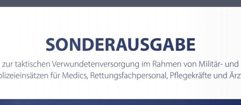 TREMA e.V. stark in der CMC Sonderausgabe der Wehrmedizin vertreten!