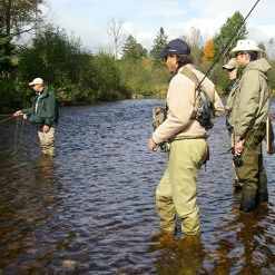 Fly Fishing - Mont Tremblant